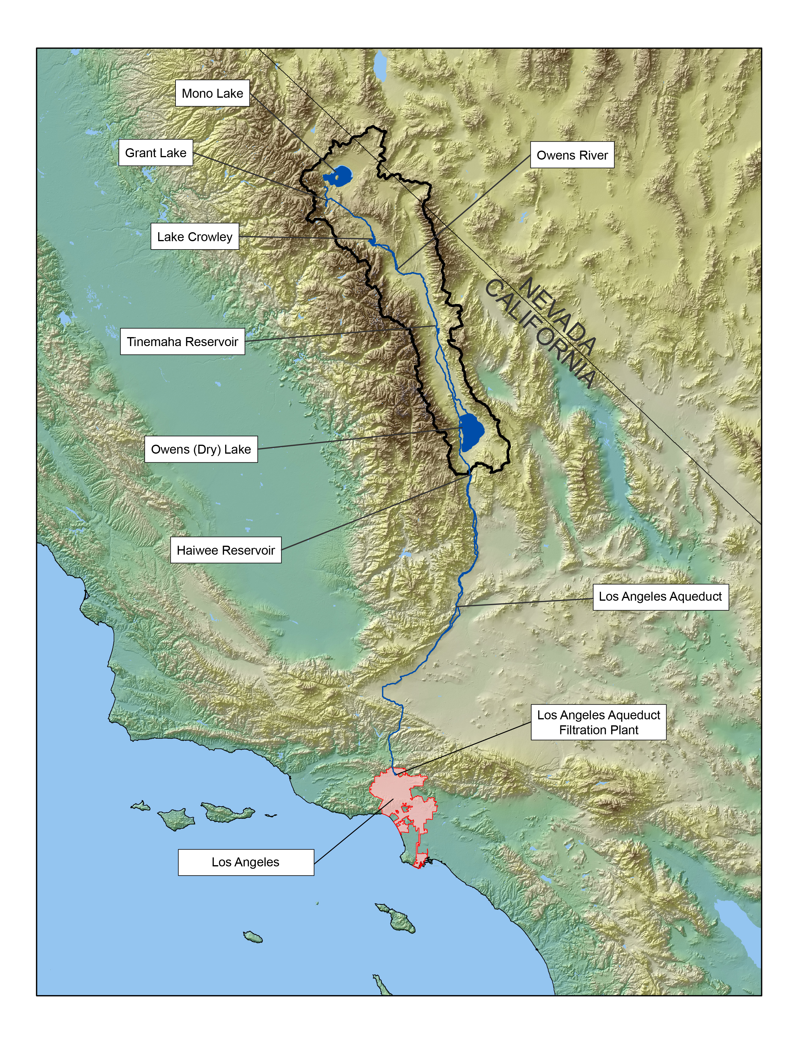 Tetra Tech Has Been Working With Ladwp To Yze The Impacts Of Climate Change On Water Supplies From The Eastern Sierra Nevada And To Evaluate Adaptation